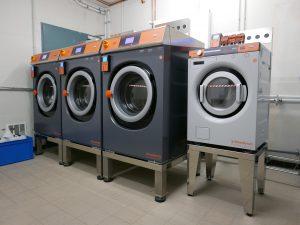 Waschen von Reinigungstextilien
