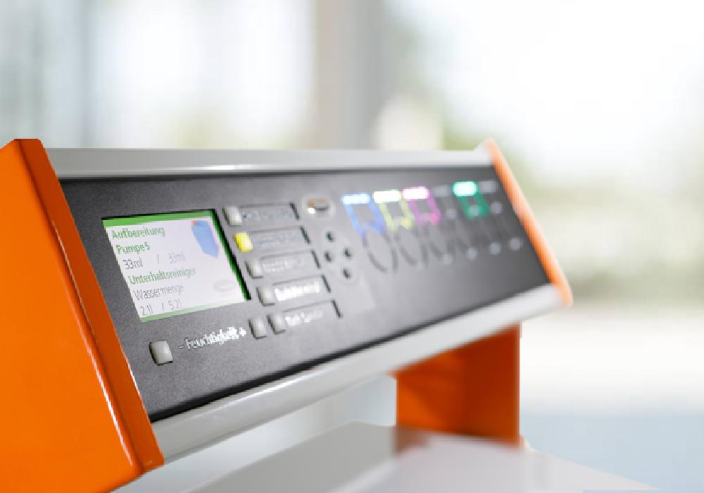 Wohldosiert: Mopp-Aufbereitungs-System SMAS® schließt Dosierfehler aus und optimiert Personalkosten