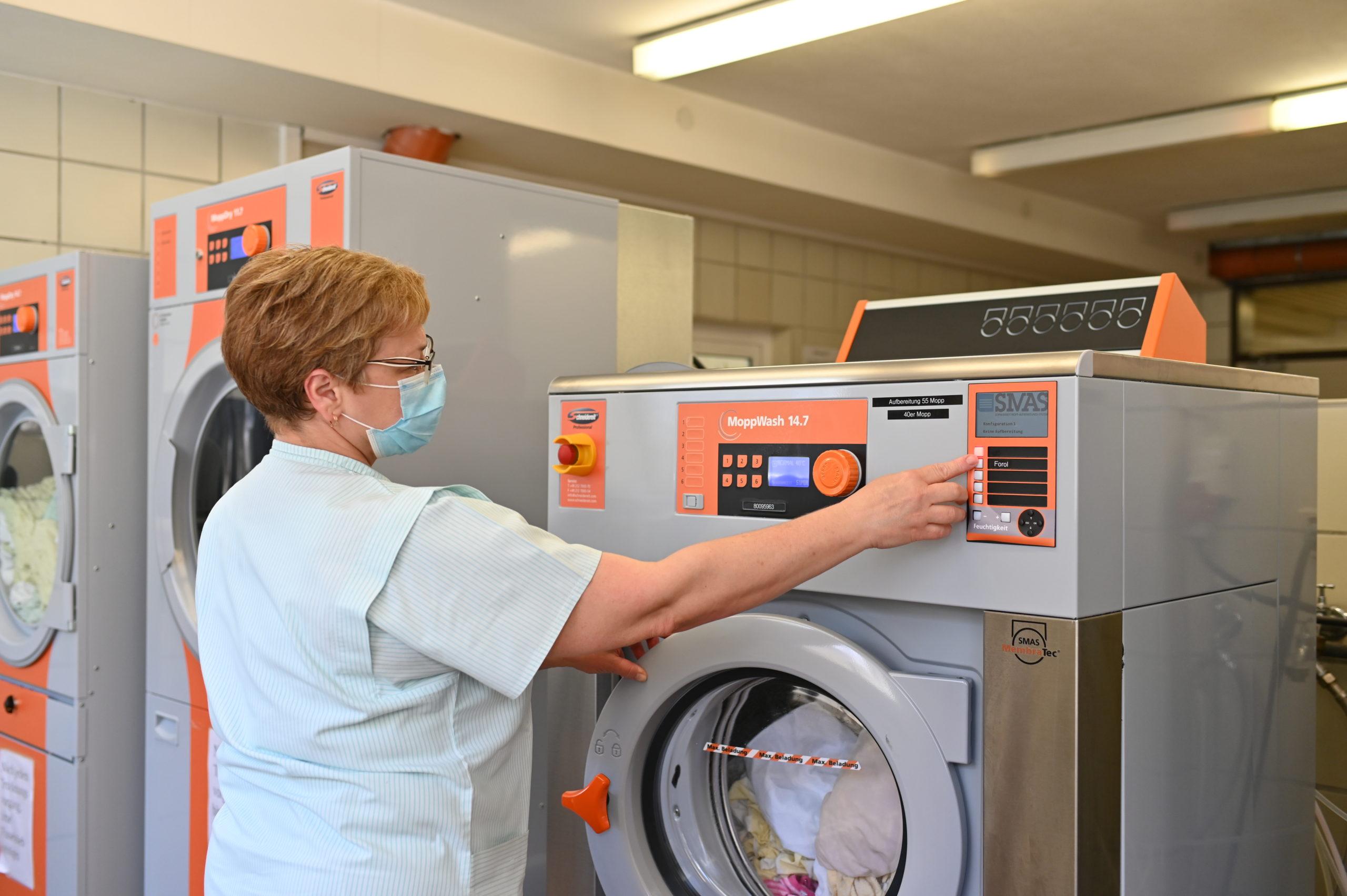Wirtschaftlich effiziente und effektiveReinigung in der Altenpflege.